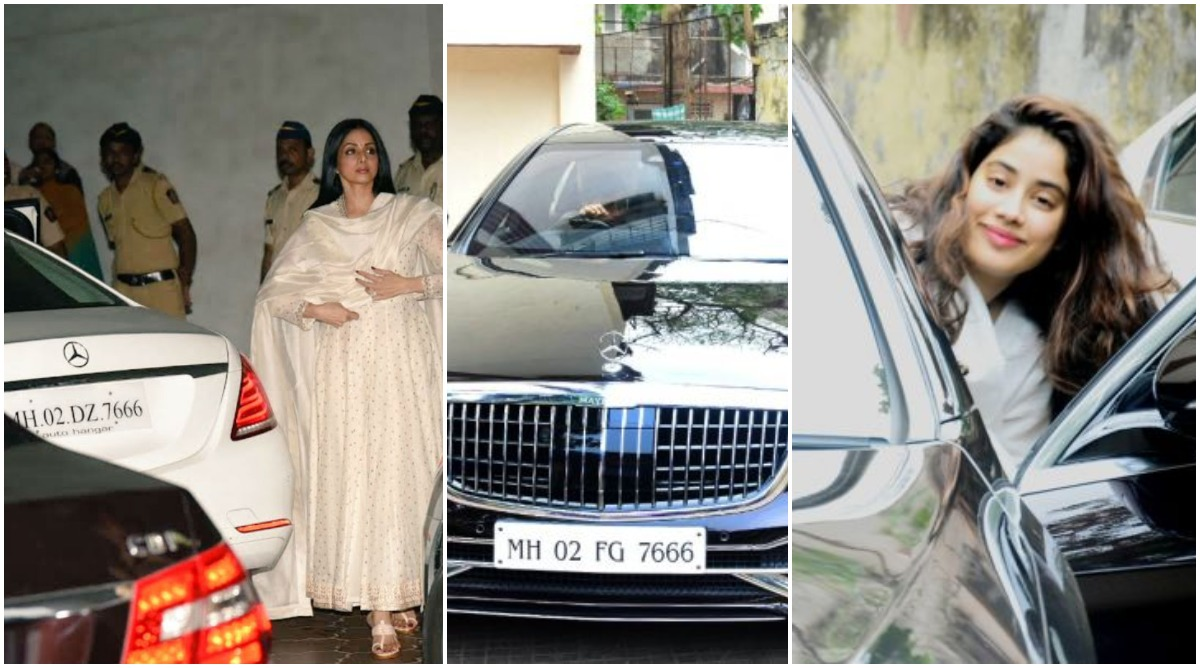 Janhvi Kapoor Becomes the Proud Owner of a Brand New Mercedes Maybach and It Has a Sridevi Connect (View Pic)