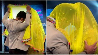 Bigg Boss 13 Weekend Ka Vaar Preview: Salman Khan and Mouni Roy Recreate Aashiqui Pose (View Pics)