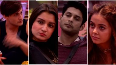Bigg Boss 13: Sidharth Shukla, Devoleena Bhattacharjee, Asim Riaz and Shefali Bagga – Who Will Be Sent to Jail? (Watch Video)