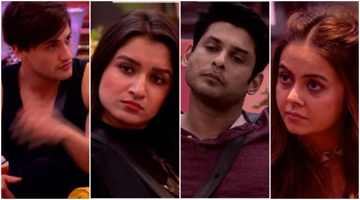 Bigg Boss 13: Sidharth Shukla, Devoleena Bhattacharjee, Asim Riaz and Shefali Bagga – Who Will Be Sent to Jail? (Watch Video)