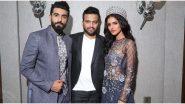 Vartika Singh and Manav Chhabra Walk the Ramp for Designer Kshitij Choudhary
