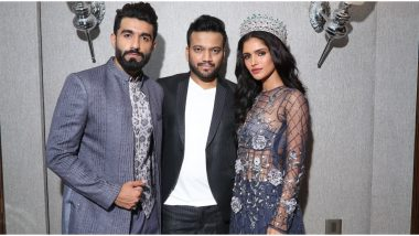 Vartika Singh and Manav Chhabra Walk the Ramp for Designer Kshitij Choudhary