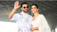 COVID-19 Outbreak: Ranveer Singh and Deepika Padukone Pledge to Donate to the PM-CARES Fund