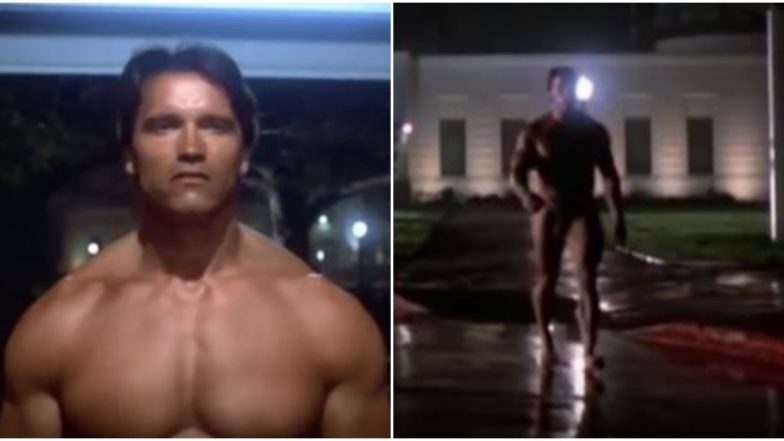 Arnold Schwarzenegger's Visible 'Penis' in This Bluray Clip of the Terminator Raises Some Hilarious Memes and Jokes on Twitter