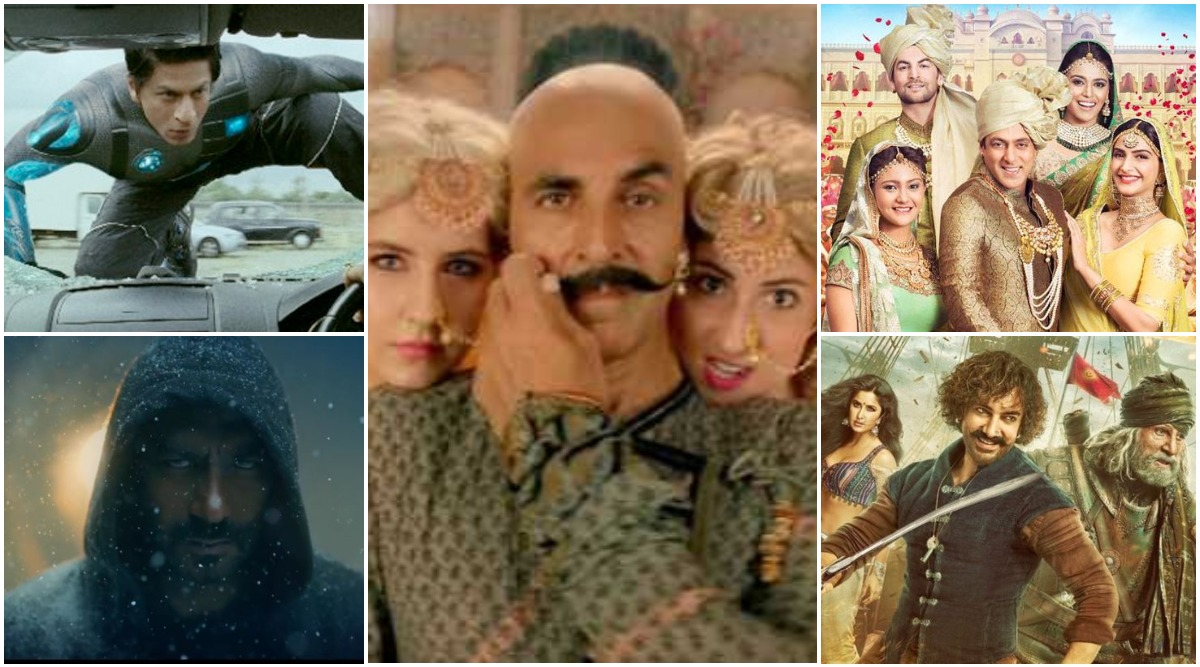 From Shah Rukh Khan's Ra.One to Akshay Kumar's Housefull 4, Eight Films of This Decade That Didn't Turn Out to Be the Colourful Diwali Blockbusters That We Expected
