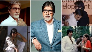 Amitabh Bachchan Birthday Special: 10 Memorable Times the Bollywood Legend Played Himself in Movies