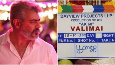 Thala 60: Ajith's Next with Boney Kapoor Officially Titled 'Valimai'