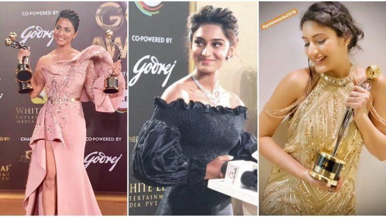 Gold Awards 2019 Winners List: Hina Khan, Erica Fernandes, Surbhi Chandna and Others Win Big At the Star-Studded Event (View Pics)