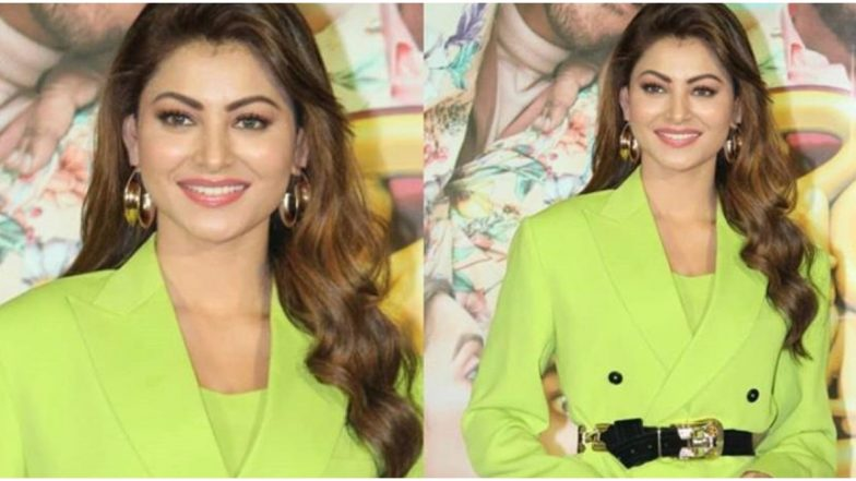 The Neon Green Trend is Here to Stay and Urvashi Rautela is Slaying it All the Way!