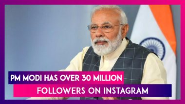 PM Modi Now Has Over 30 Million Followers On Instagram Making Him The Most Followed Global Leader