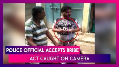 Bihar: Police Official Accepts Bribe In Gaya, Act Caught On Camera