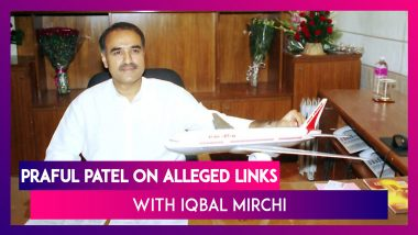 Praful Patel On Alleged Links With Dawood Ibrahim's Aide Iqbal Mirchi: Will Answer When Time Comes