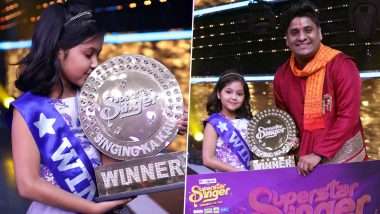 Superstar Singer Super Finale: Kolkata's Prity Bhattacharjee Wins The Title, Takes Home Rs 15 Lakh