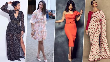 Priyanka Chopra's Style File for 'The Sky is Pink Promotions' is a Proof that her Fashion Game is always on Point (View Pics)