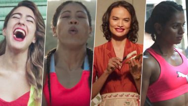 Sara Ali Khan, Mary Kom, Dutee Chand and Anjali Lama Collab for the Uber Cool 'Propah Lady' Campaign by PUMA (Watch Video)