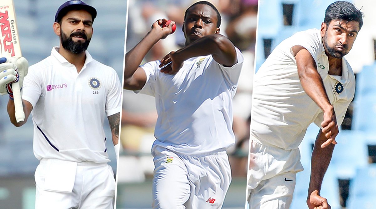 India vs South Africa, 3rd Test 2019, Key Players: Virat Kohli, Kagiso Rabada, R Ashwin and Other Cricketers to Watch Out for in Ranchi