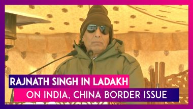 Rajnath Singh: India, China Handled Differences With Maturity And Siachen Now Open For Tourists