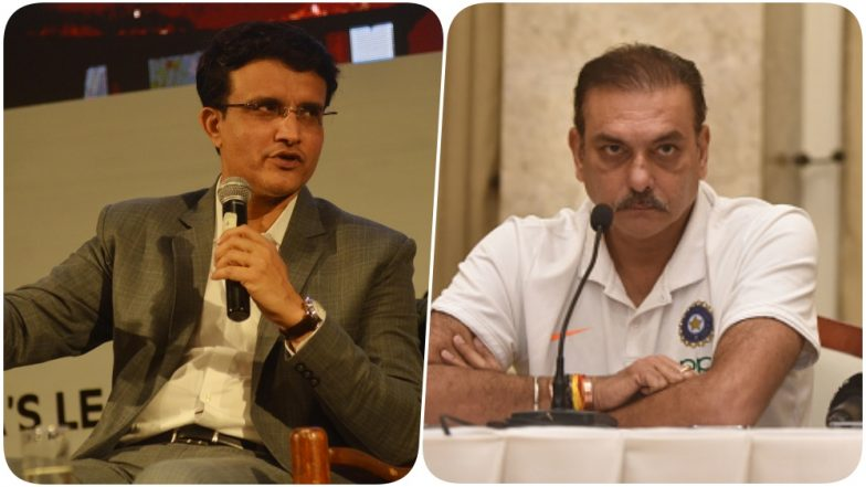 Ravi Shastri Trolled After Reports of Sourav Ganguly Becoming New BCCI President, Dada's Fans Ask Team India Coach 'Ab Tera Kya Hoga'