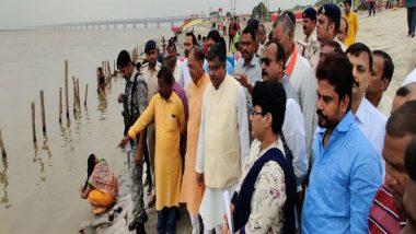 Chhath Puja 2019: Ravi Shankar Prasad Takes Stock of Puja Preparations in Patna