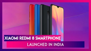 Xiaomi Redmi 8 Smartphone Launched In India; Price, Features, Specifications, Variants & Colours