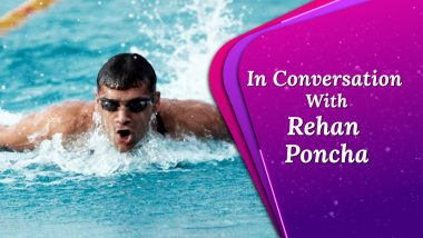 Rehan Poncha: On Swimming At The Olympics, Staying Fit and Playing Golf