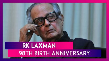 RK Laxman 98th Birth Anniversary: Remembering India's Greatest Cartoonist