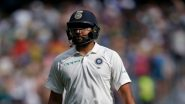 Rohit Sharma Brings Up a Fighting Half-Century During IND vs SA, 3rd Test 2019, Day 1