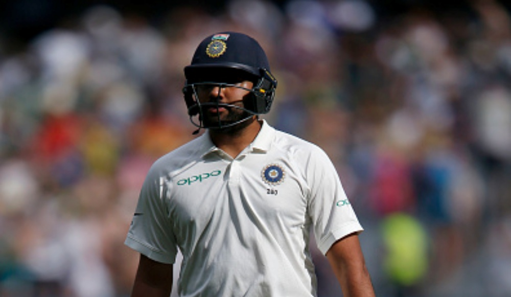 Fan Breaches Security to Kiss Rohit Sharma's Feet During IND vs SA, 2nd Test 2019 (Watch Video)