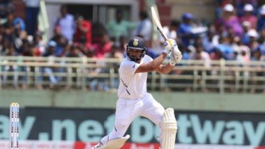 Rohit Sharma Hits An Unbeaten Fifty to Take India to 91/0 at Lunch on Day 1, Twitterati Hail Indian Opener's Sincere Efforts During IND vs SA 1st Test 2019