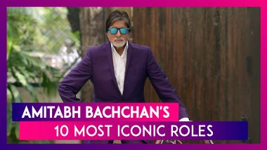 Amitabh Bachchan Birthday Special: From Zanjeer, Sholay To Agneepath, 10 Iconic Roles Of Big B