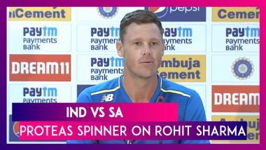 Ind vs Sa: 'It Was Rohit's Day', Says Proteas Spinner George Linde On Sharma's Double Ton