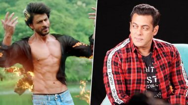 Salman Khan Calls Shah Rukh Khan a True 'Hero' After the Latter Saves Aishwarya Rai Bachchan's Manager From Fire (View Post)
