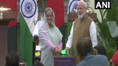 PM Narendra Modi, Bangladesh Counterpart Sheikh Hasina Inaugurate 3 Bilateral Projects on LPG Import