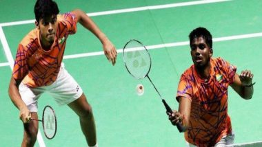 French Open 2019: Indian Shuttlers Chirag Shetty and Satwiksairaj Rankireddy Enter Semi-Final in Men's Doubles