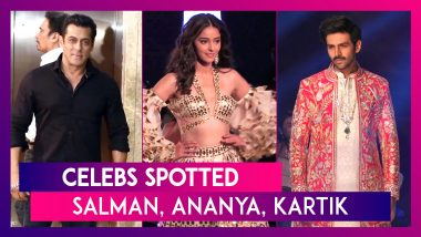 Salman Khan, Akshay Kumar, Ananya Panday, Kartika Aaryan & Others Seen In The City I Celebs Spotted