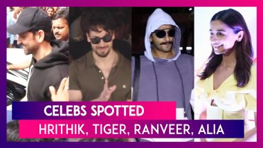 Celebs Spotted: Hrithik Roshan, Tiger Shroff, Ranveer Singh, Alia Bhatt & Others Spotted In The City