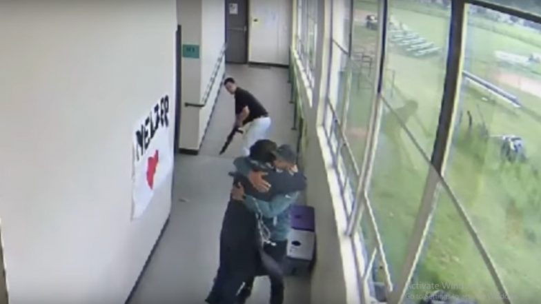 Kindness Pays! Football Coach Stops Student From Committing Suicide at US High School by Disarming and Hugging Him (Watch Viral Video)