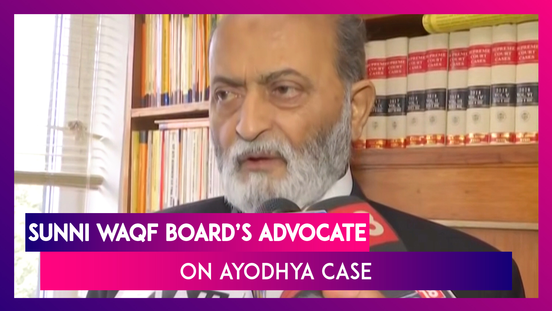 Ayodhya Land Dispute Case: Satisfied With Evidences We Presented, Says Sunni Waqf Board's Advocate