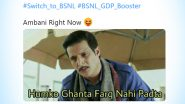 Switch to BSNL Trends on Twitter With Funny Memes and Jokes Being Made on Reliance Jio!