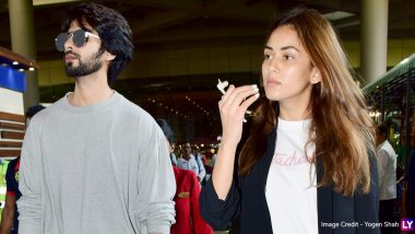 Shahid Kapoor and Mira Rajput Pack a Powerful Style Punch at the Airport (View Pics)