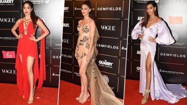 Vogue Women Of The Year Awards 2019 Red Carpet: Janhvi Kapoor, Ananya Panday, Shibani Dandekar and Others Make Stunning Appearances (View Pics)