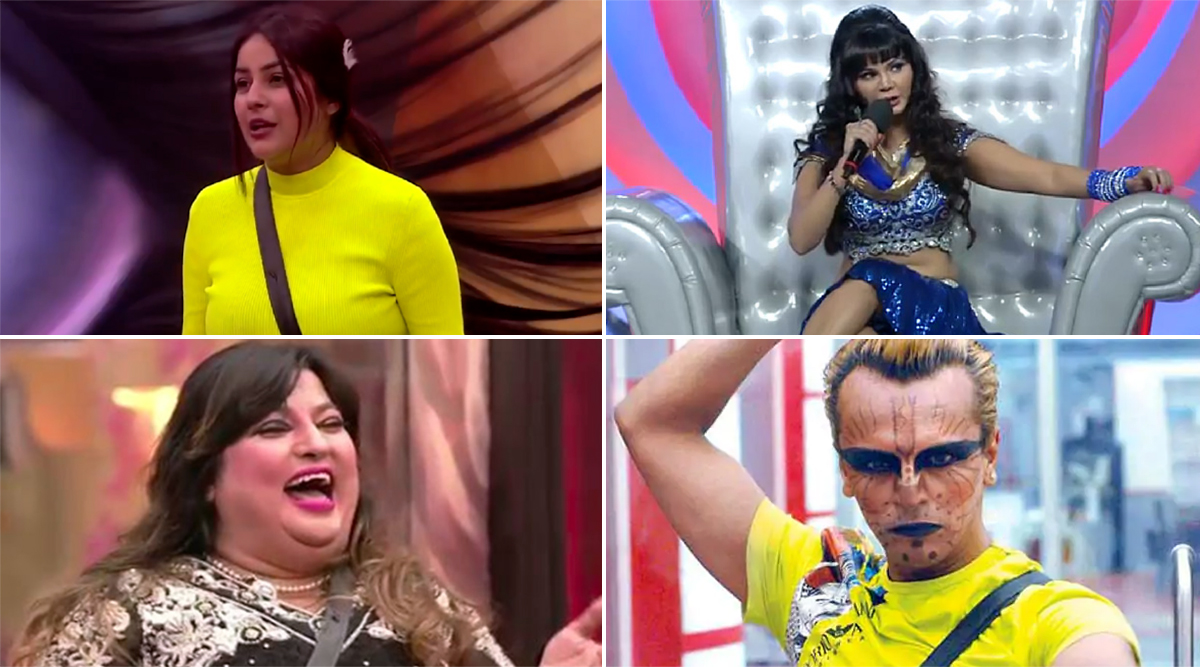 Bigg Boss 13: Shehnaaz Gill, Rakhi Sawant, Dolly Bindra And More, Meet The Amusing And Entertaining Contestants From Salman Khan's Controversial Show!
