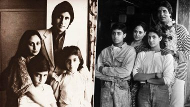 Amitabh Bachchan Birthday Special: These Throwback Pictures of Big B Will Take you on a Trip down the Memory Lane