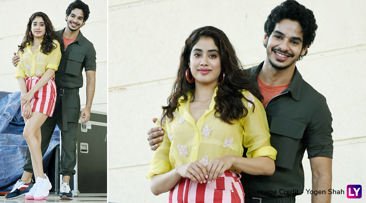 These Pics of Janhvi Kapoor with Rumoured Beau Ishaan Khatter Go Viral