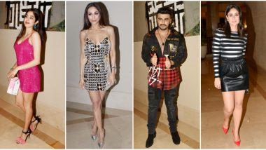 Malaika Arora Birthday Bash: Arjun Kapoor, Kareena Kapoor Khan, Janhvi Kapoor Celebrate the Occasion with the Diva (View Pics)