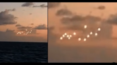 Mysterious UFO Sightings in North Carolina's Outer Banks Spark Discussions on Alien Existence (Watch Viral Video)