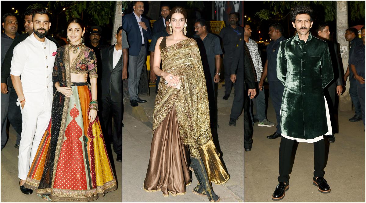 Virat Kohli Anushka Sharma and others at Bachchan Diwali Bash.