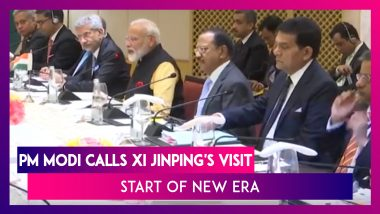 PM Modi On Xi Jinping's Visit: 'Chennai Connect' is Start of a New Era in India-China Relation