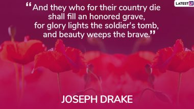 Remembrance Day 2019 Quotes: Thoughtful Words and Sayings to Honour World War I Veterans on Poppy Day
