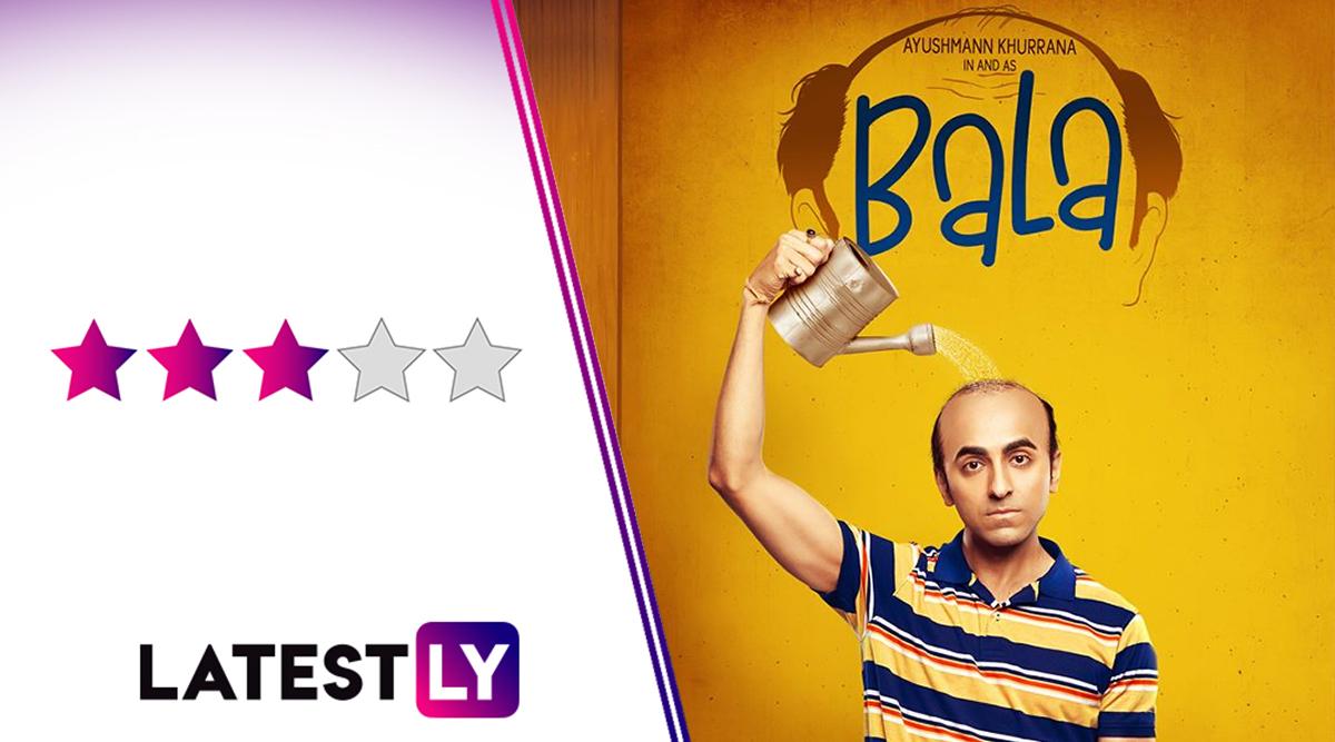 Bala Movie Review: Ayushmann Khurrana, Bhumi Pednekar and Yami Gautam Are in Rollicking Form in This 'Hair'-Raising Comedy